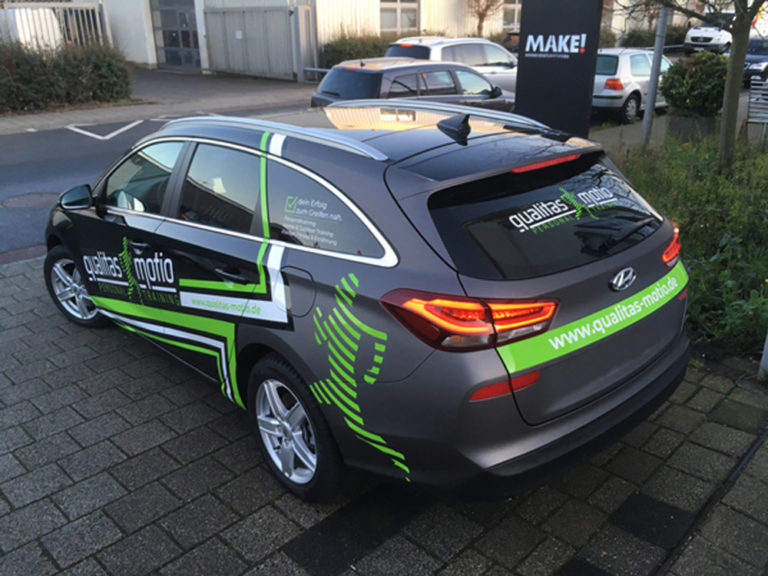 Autofolierung Bremen Car Wrapping Sport