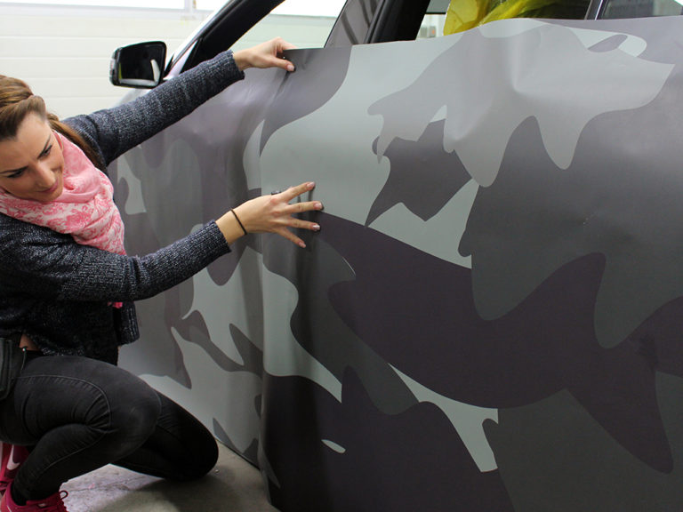 Auto Vollfolierung - Wrapping