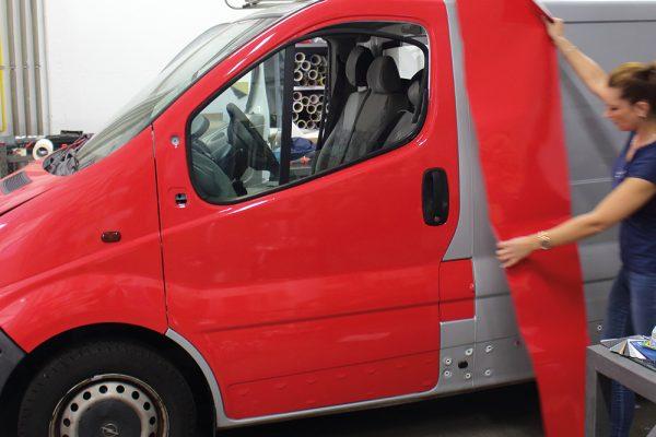 Vollfolierung für Firmenfahrzeuge
