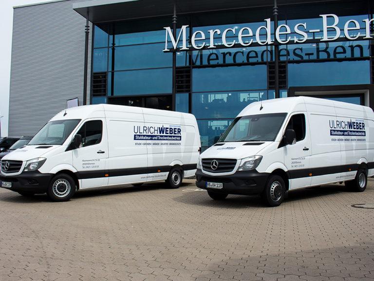 Flottenfolierung Mercedes