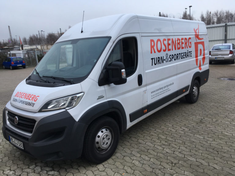 Autobeschriftung auf Transporter - Werbebeschriftung Bremen